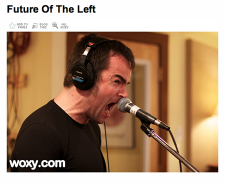 Future Of The Left @ WOXY