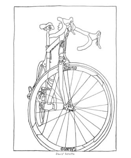 bicycle coloring book - Bicycle Coloring Book