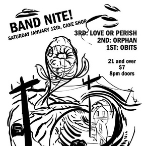 Obits Live at Cake Shop