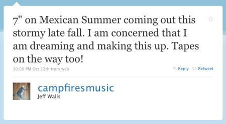 Campfires Tweet