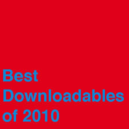 Best Downloadables of 2010, Vol. 1