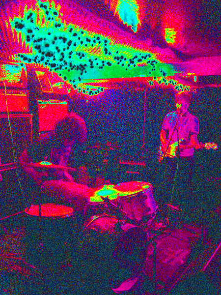 sisters inverted solarize from cake shop cmj09 show