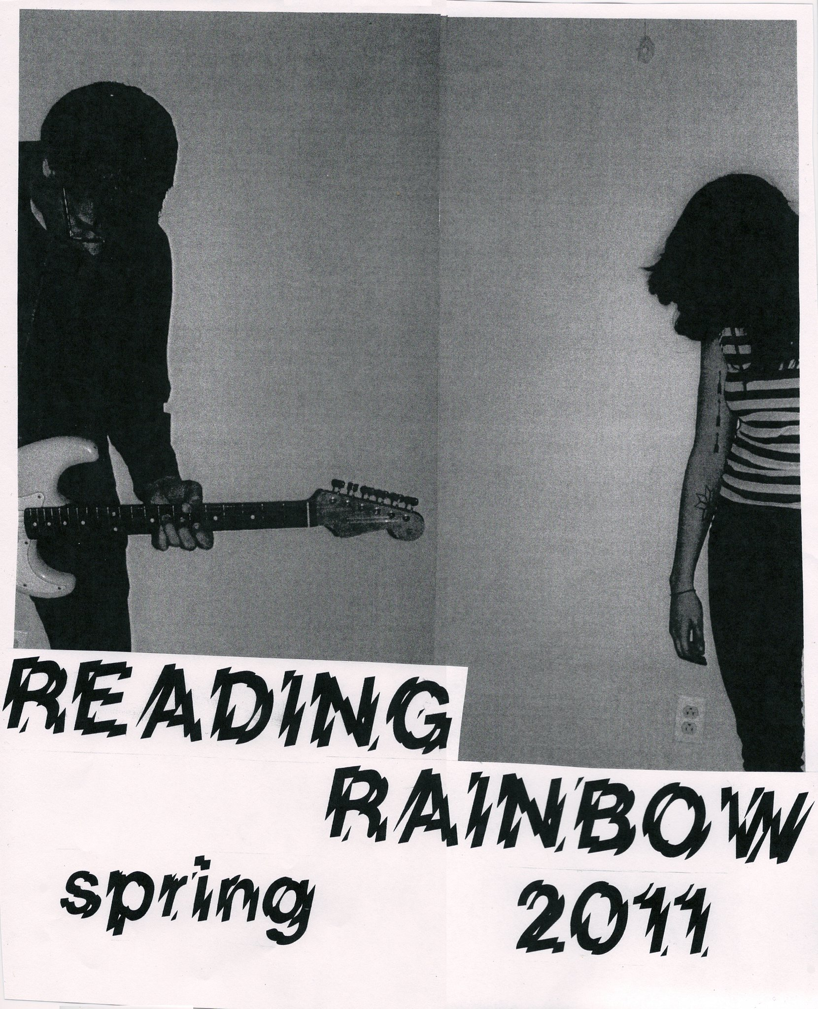 Reading Rainbow Tour Poster Spring 2011