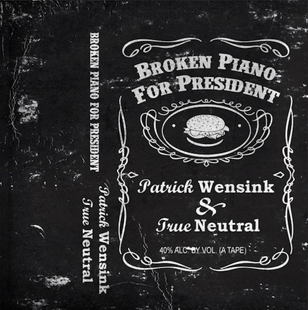 Broken to Piano for President