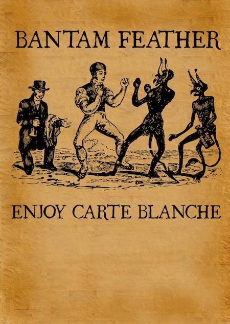 Enjoy Carte Blanche by bantam feather