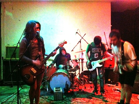 Speedy Ortiz at Shea Stadium
