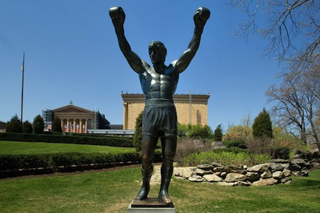 The Italian Stallion, cast in bronze Credit: By J. Smith for GPTMC
