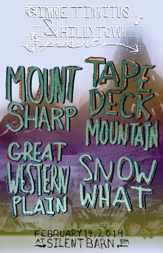 Feb 19th at Silent Barn