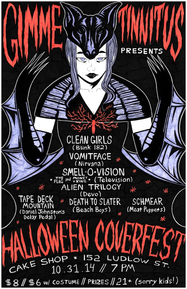 GT Halloween Coverfest at Cakeshop
