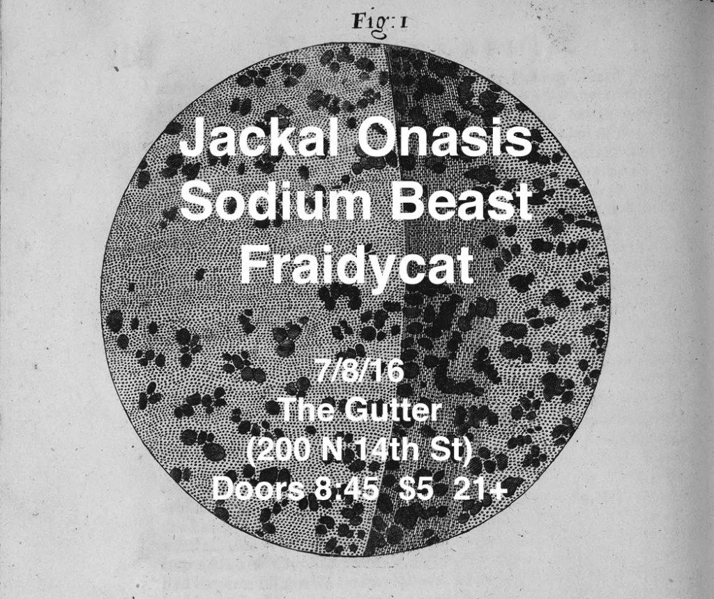 The Gutter on 7/8/16 Flyer