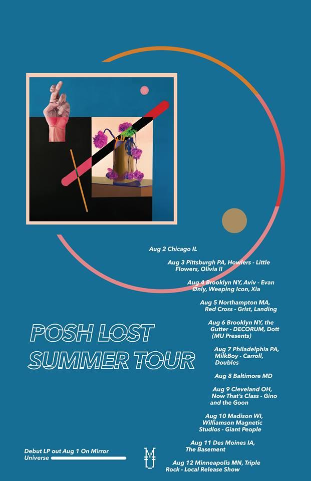 posh lost tour flier