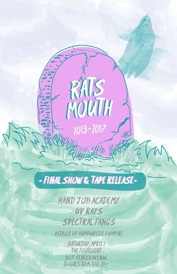 rats mouth final show