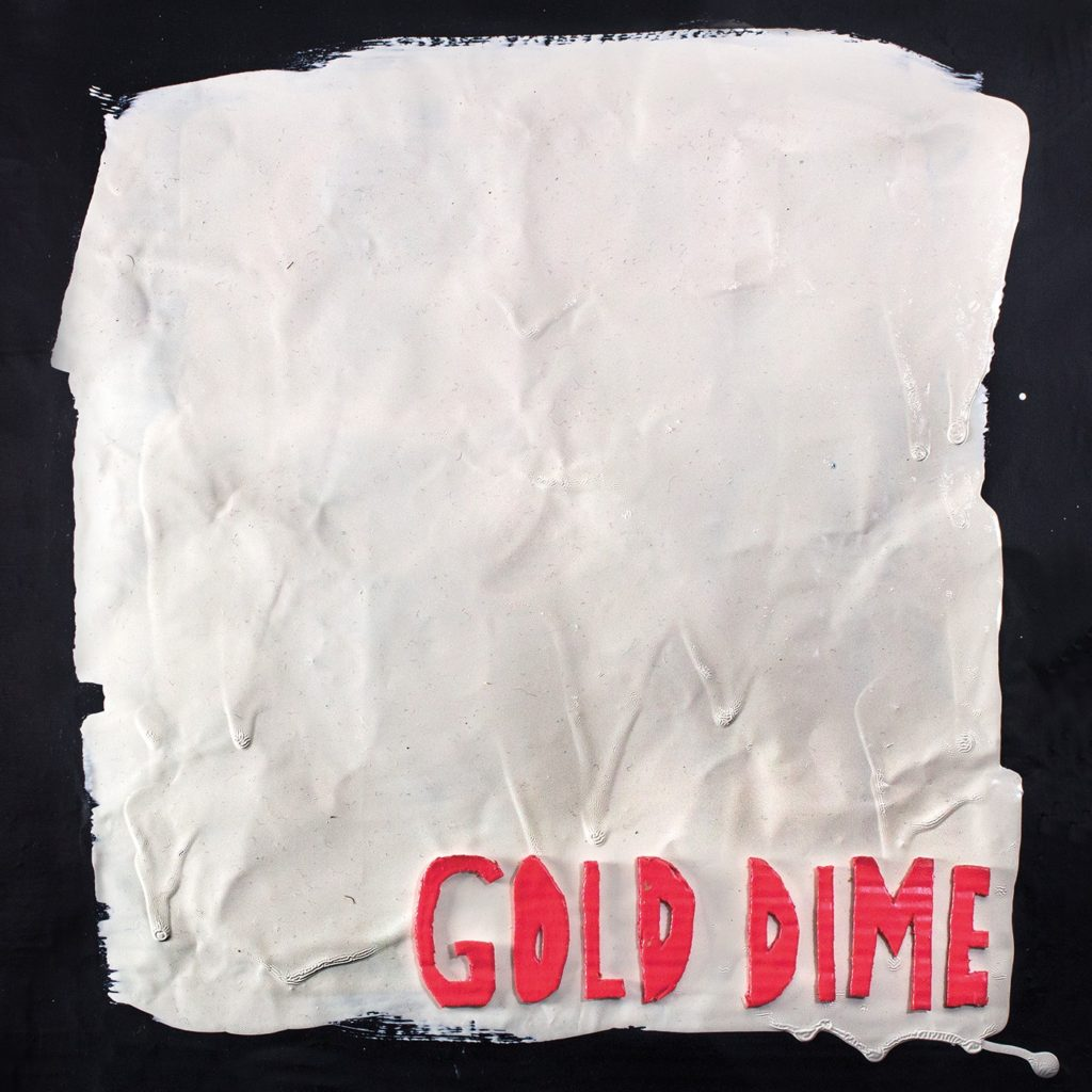 gold dime album art