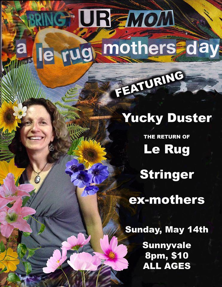bring yr mom show flier