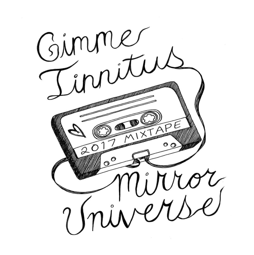 GT MU mixtape, art by Steph Monohan