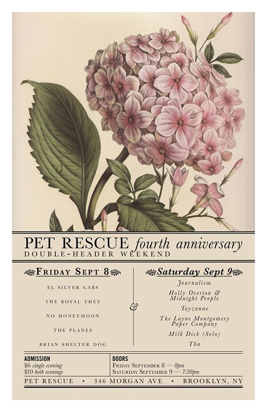 pet rescue flier